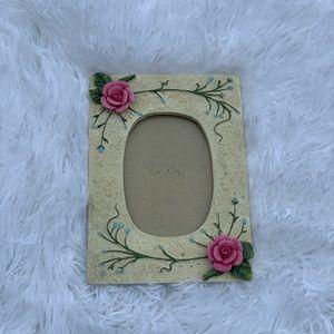 Vintage Rose Picture frame